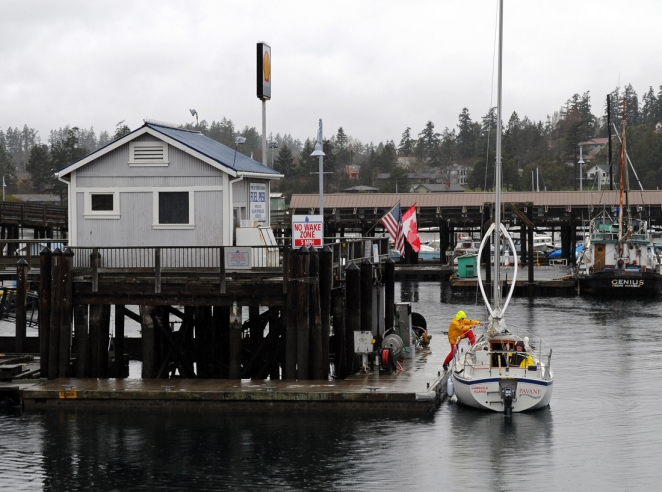 Fuel Pier at the Friday Harbor Marina