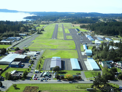 Welcome to the Friday Harbor Airport
